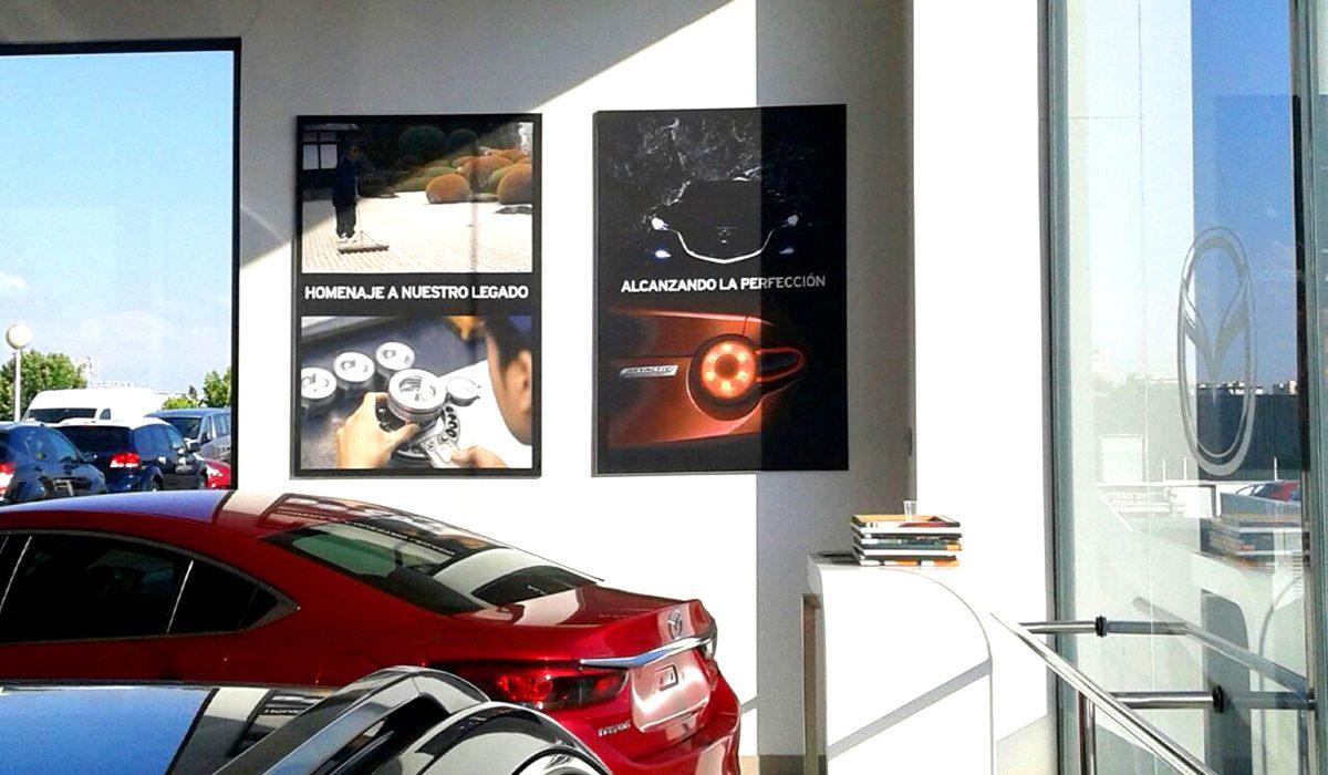 Proyecto Concesionarios Mazda y Copyprint