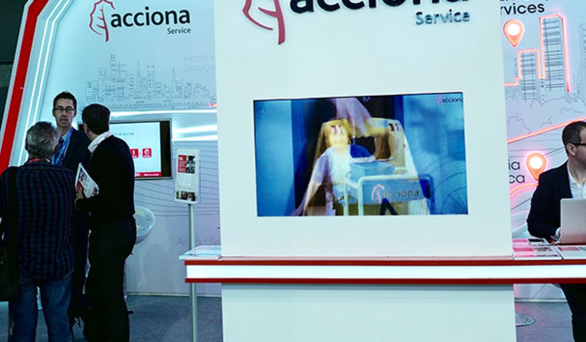 Stand Acciona Feria Smart City Barcelona