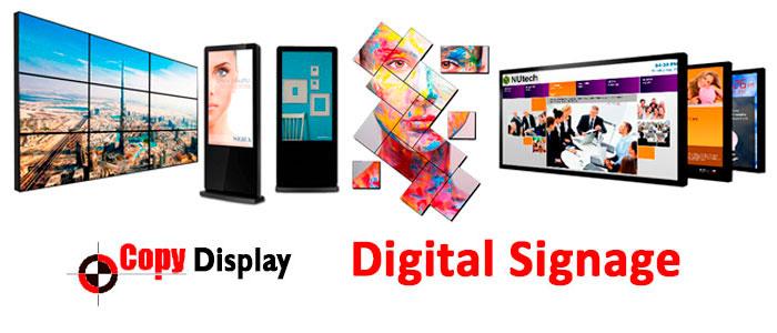Nuevas experiencias con carteleria digital Copy Display en el punto de venta
