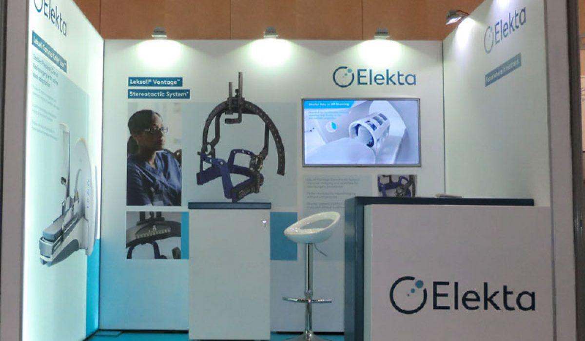 Diseño y fabricación de stand para Elekta