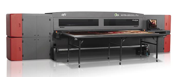 Nueva máquina VUTEK de impresión UVI