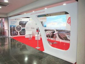 Diseño final stand Acciona. Copy Print Madrid