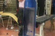 fabricación-Botella-poliespan-stand-MD-Alcántara