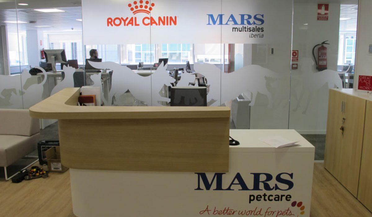 Decoración de estancias Grupo Mars