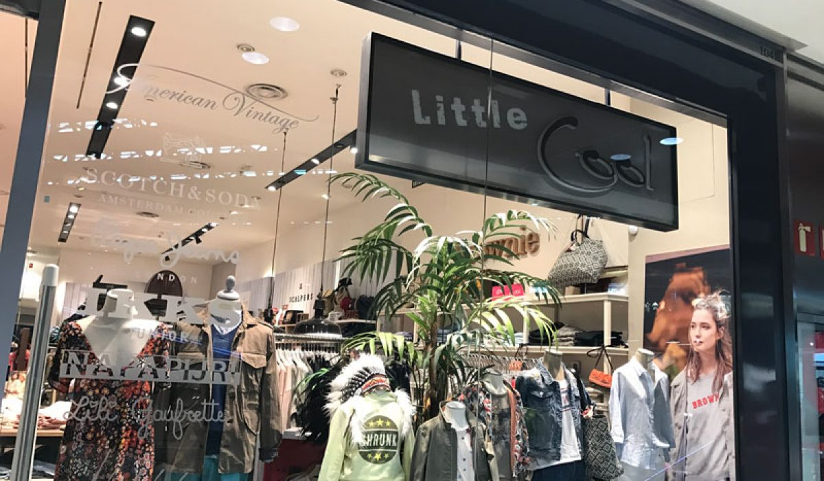 Cambio de look a tienda Little Cool