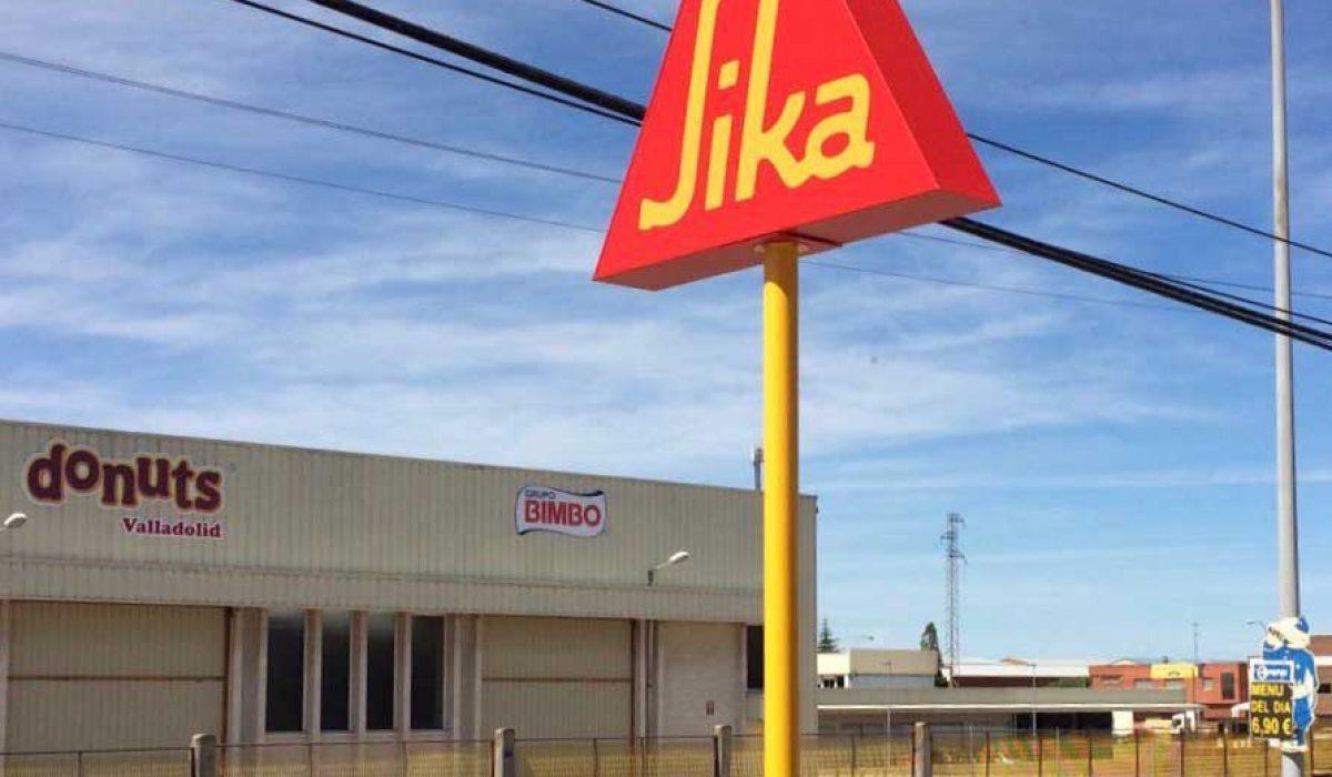 Fabricación monoposte para Sika