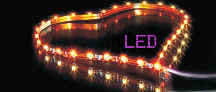 Cintas flexibles LED: novedades para decorar tiendas
