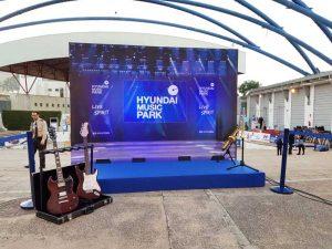CopyPrint realiza los conciertos Hyundai Music Park