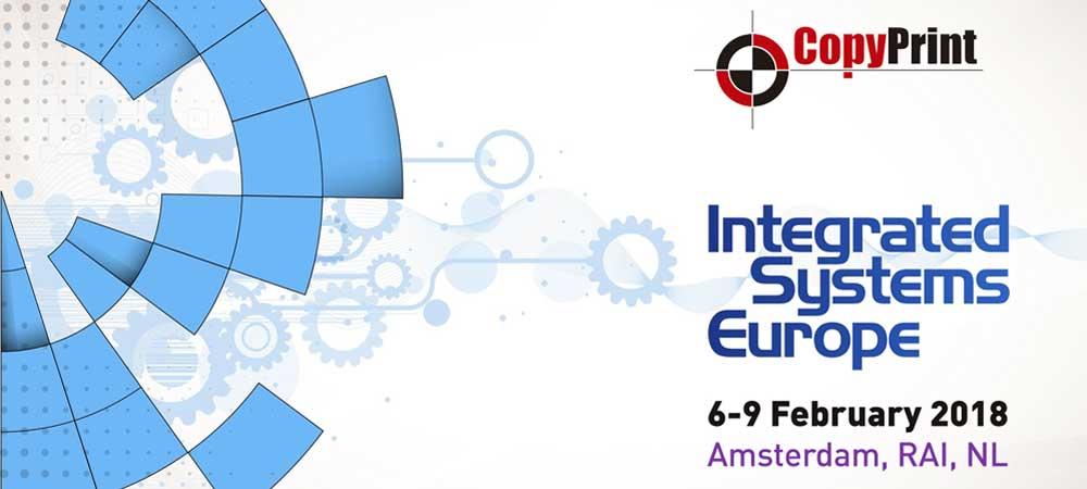 Feria ISE 2018 Amsterdam. CopyPrint