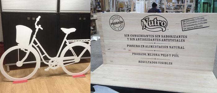 proyectos de carpinteria para eventos. CopyPrint Madrid