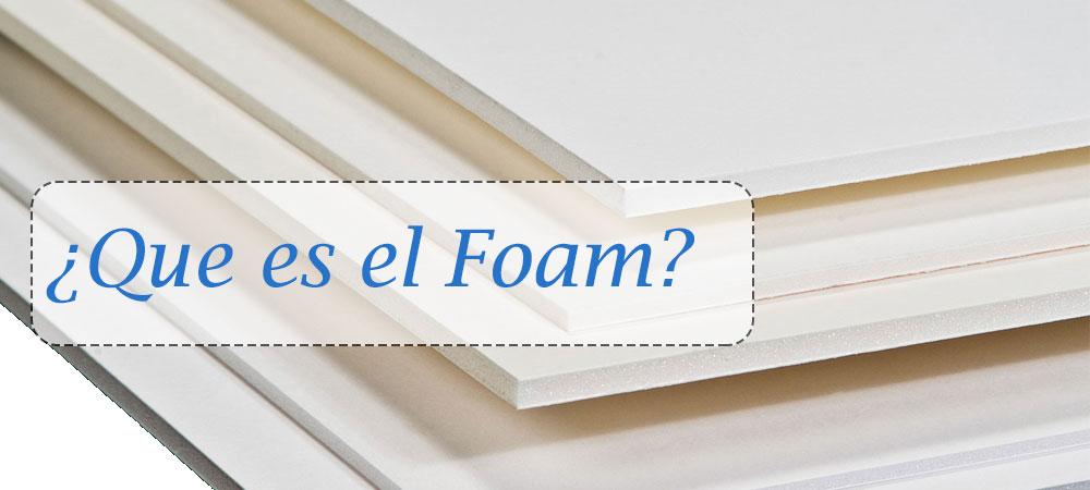 La impresión digital en foam y sus usos